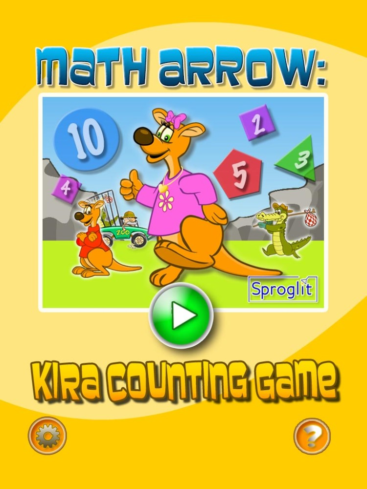 Kira Counts Back Math Arrow Game by Sproglit