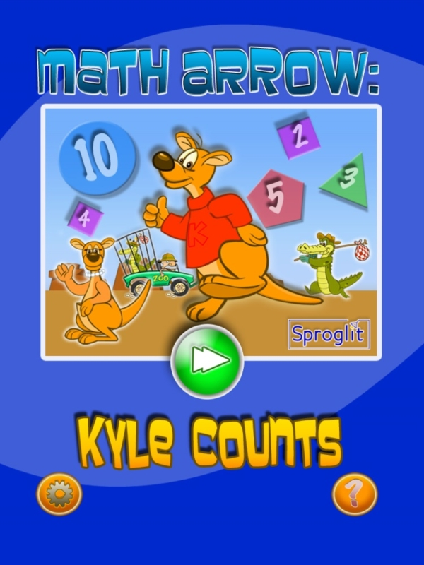 Kyle Counts Math Arrow Game by Sproglit